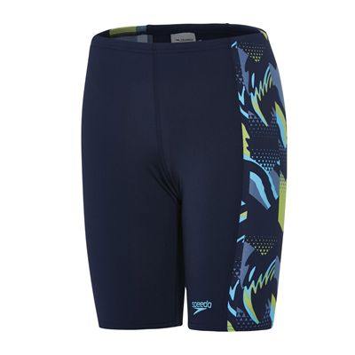 Speedo Endurance Plus Alphablast Allover Panel Boys Jammers