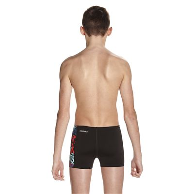 Speedo Endurance Plus Astro Ignite Allover Panel Boys Aquashorts - Back