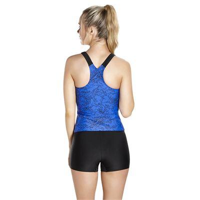 Speedo Endurance Plus Boom Allover Ladies Tankini - Back