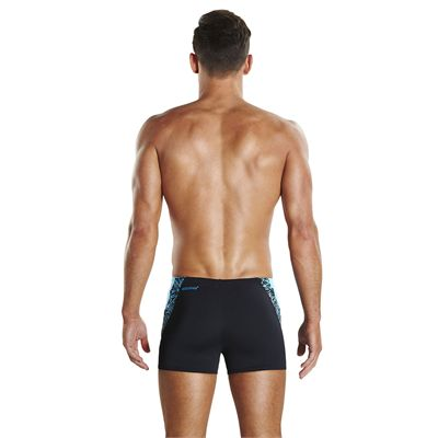 Speedo Endurance Plus Boom Splice Mens Aquashorts - Back