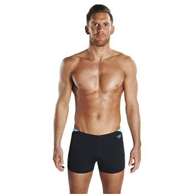 Speedo Endurance Plus Boom Splice Mens Aquashorts - Front