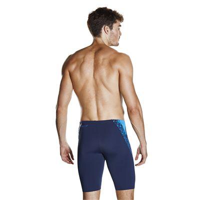 Speedo Endurance Plus Boom Splice Mens Jammers - navy-blue-additional2