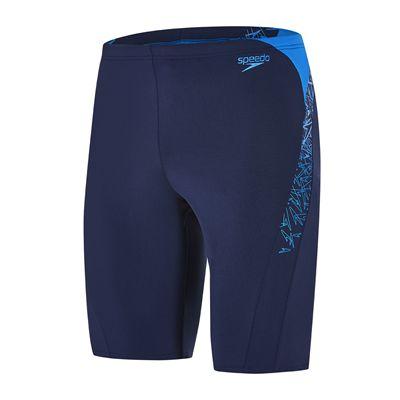 Speedo Endurance Plus Boom Splice Mens Jammers - navy-blue-main