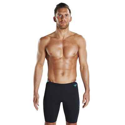 Speedo Endurance Plus Boom Splice Mens Swimming Jammers - Front