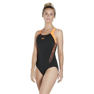 Speedo Endurance Plus Boom Splice Muscleback Ladies Swimsuit SS18