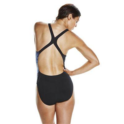 Speedo Endurance Plus EnergyFlo Powerback Ladies Swimsuit - Back