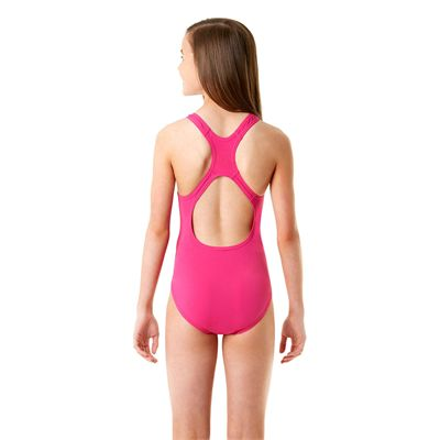 Speedo Endurance Plus Medalist Girls Swimsuit SS14 - Back