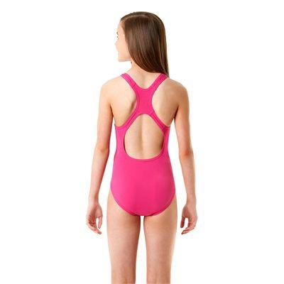 Speedo Endurance Plus Medalist Girls Swimsuit SS14 - Back