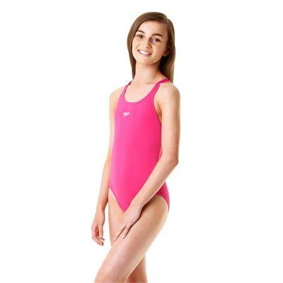 Speedo Endurance Plus Medalist Girls Swimsuit SS14 - Side View
