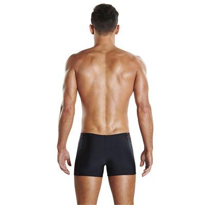 Speedo Endurance Plus Placement Panel Mens Aquashorts - Back