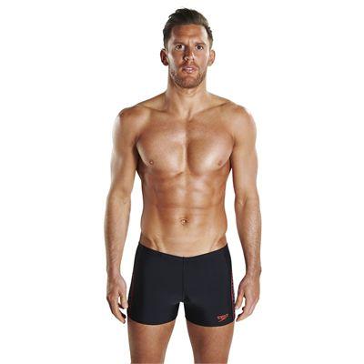 Speedo Endurance Plus Placement Panel Mens Aquashorts - Front