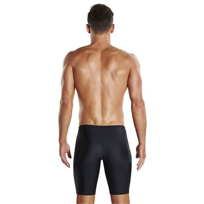Speedo Endurance Plus Placement Panel Mens Swimming Jammers - Back