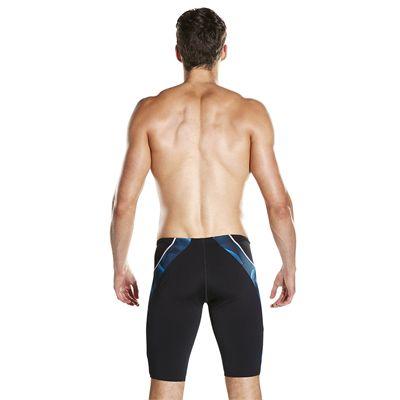 Speedo Endurance Plus Speedo Fit Graphic Mens Swimming Jammers - Back