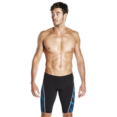Speedo Endurance Plus Speedo Fit Graphic Mens Swimming Jammers - Front