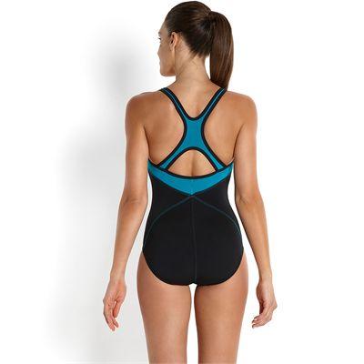Speedo Endurance Plus Speedo Fit Kickback Ladies Swimsuit 2016-Back