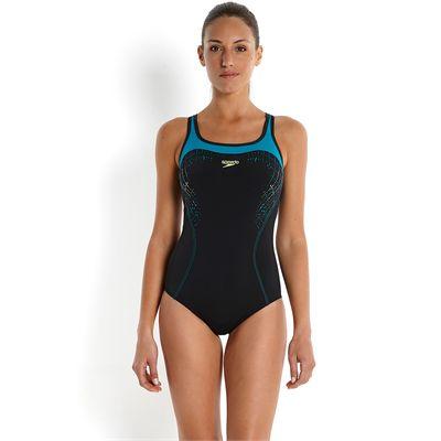 Speedo Endurance Plus Speedo Fit Kickback Ladies Swimsuit 2016-Front