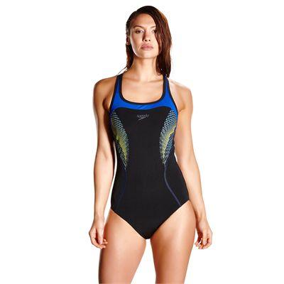 Speedo Endurance Plus Speedo Fit Kickback Ladies Swimsuit AW17 - Front