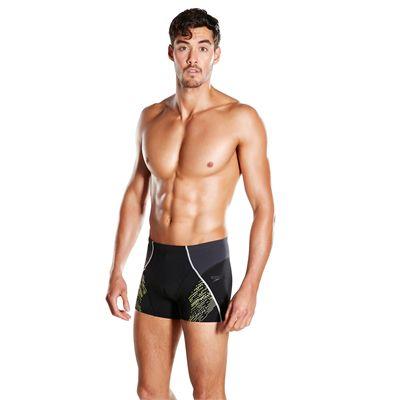 Speedo Endurance Plus Speedo Fit Panel Mens Aquashorts - Angled