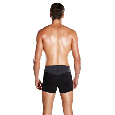 Speedo Endurance Plus Speedo Fit Panel Mens Aquashorts - Back