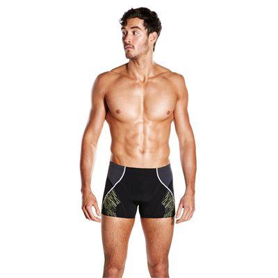 Speedo Endurance Plus Speedo Fit Panel Mens Aquashorts - Front