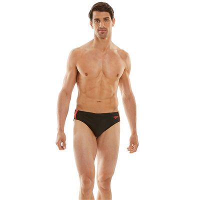 Speedo Enurance 10 Logo Curve 7cm Mens Brief