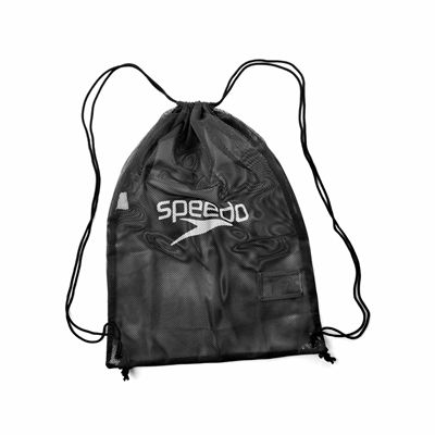 Speedo Equipment Mesh Bag Black Front Small