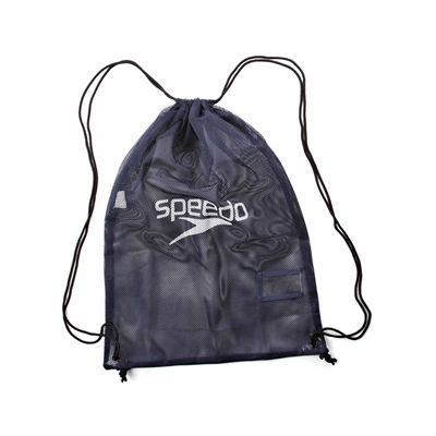 Speedo Equipment Mesh Bag Navy Front Small
