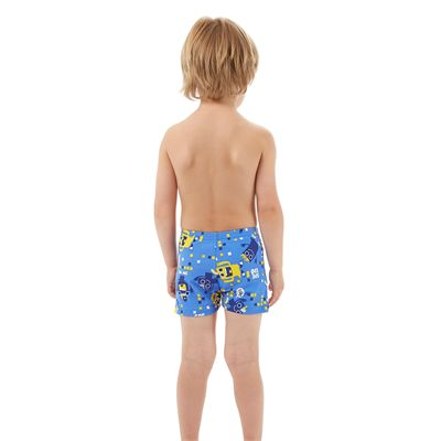 Speedo Essential Allover Infant Boys Aquashorts - Back View