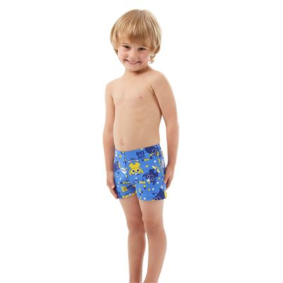 Speedo Essential Allover Infant Boys Aquashorts - Side View