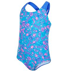 Speedo Essential Allover Infant Girls Swimsuit