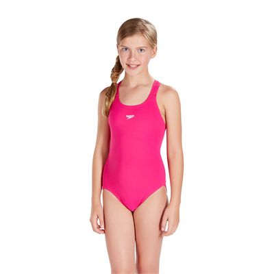 Speedo Essential EndurancePlus Medalist Girls Swimsuit - Front