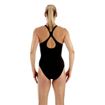 Speedo Essential Fluidfuse Pullback Ladies Swimsuit Back View