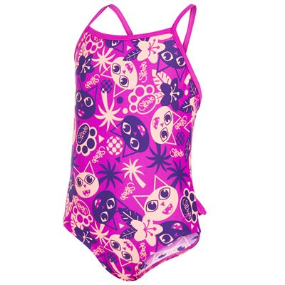 Speedo Essential Frill Infant Girls Swimsuit AW16