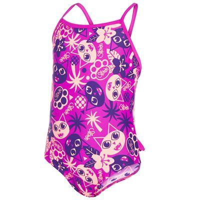 Speedo Essential Frill Infant Girls Swimsuit AW16