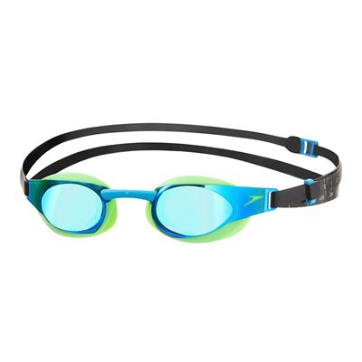 Speedo Fastskin3 Elite Mirror Swimming Goggles -Green And Blue