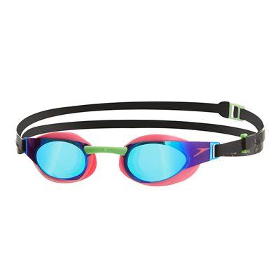 Speedo Fastskin3 Elite Mirror Swimming Goggles -Pink And Green