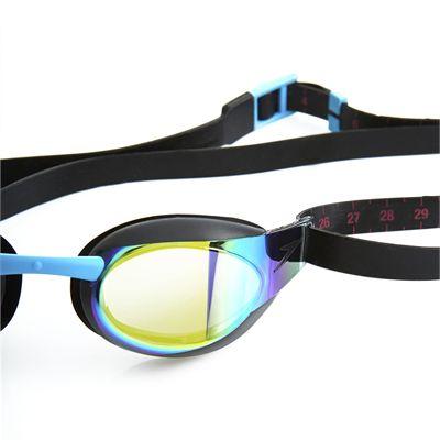 Speedo Fastskin3 Elite Mirror Junior Swimming Goggles Close View