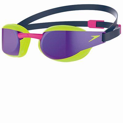 Speedo Fastskin3 Elite Mirror Goggles - Purple Covered