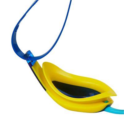 Speedo Fastskin3 Elite Mirrored Junior Swimming Goggles-Close View