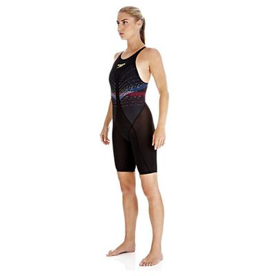 Speedo Fastskin3 Ladies Pro Recordbreaker Kneeskin Suit - Side View