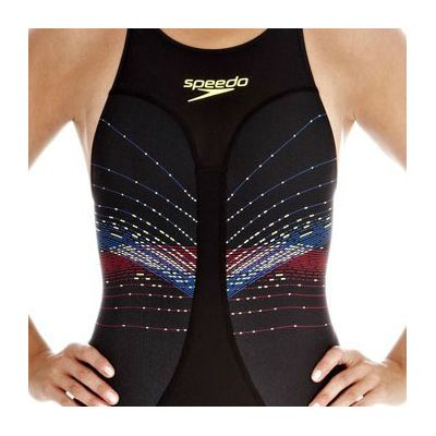 Speedo Fastskin3 Ladies Pro Recordbreaker Kneeskin Suit - Zoomed