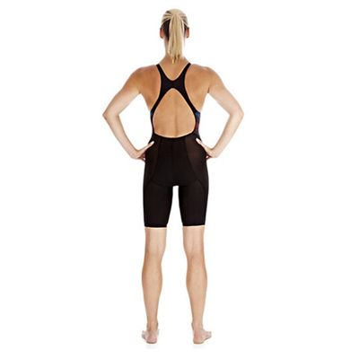 Speedo Fastskin3 Ladies Pro Recordbreaker Kneeskin Suit - Back View