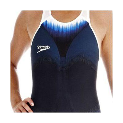 Speedo Fastskin3 Ladies Super Elite Recordbreaker Closed Back Kneeskin Suit - Zoomed