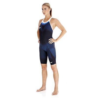 Speedo Fastskin3 Ladies Super Elite Recordbreaker Closed Back Kneeskin Suit - Side View