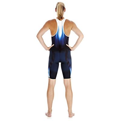 Speedo Fastskin3 Ladies Super Elite Recordbreaker Closed Back Kneeskin Suit - Back View