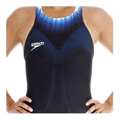 Speedo Fastskin3 Ladies Super Elite Recordbreaker Kneeskin Suit - Zoomed