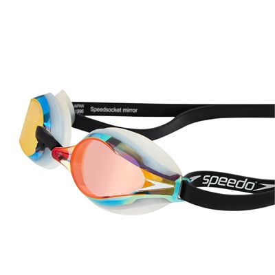 Speedo Fastskin3 Speedsocket 2 Mirroreded Swimming Goggles-Side