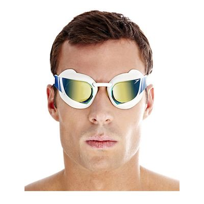 Speedo Fastskin3 Super Elite Mirror Goggle White Gold