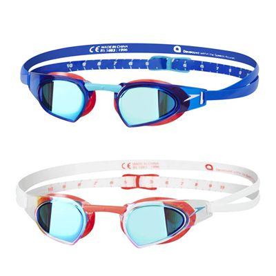Speedo Fastskin Prime Mirrored - Colours Combination Blue/White