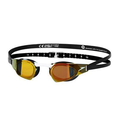 Speedo Fastskin Prime Mirrored Swimming Goggles - Black